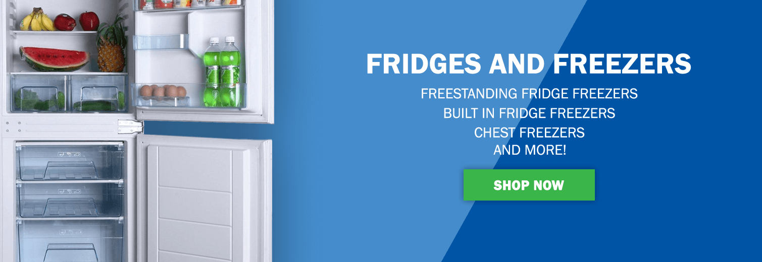 Fridges and Freezers - Built In, Freestanding, Chest Freezers